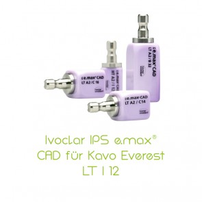 IPS e.max CAD Kavo Everest® LT I 12
