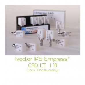 Ivoclar IPS Empress® CAD LT (Low Translucency)  I 10
