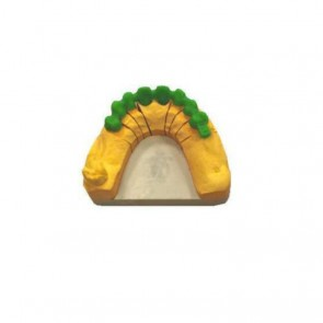 Composite-Disc Pressing Dental Smile-Green disc PMMA