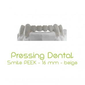 Pressing Dental Smile PEEK 16mm - Beige