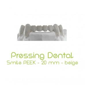 Pressing Dental Smile PEEK 20mm - Beige
