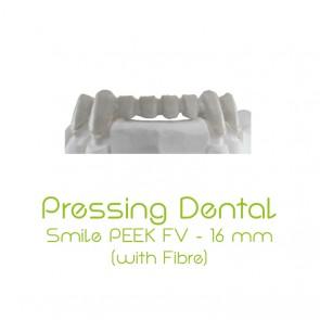 Pressing Dental Smile PEEK-FV 16mm - Beige