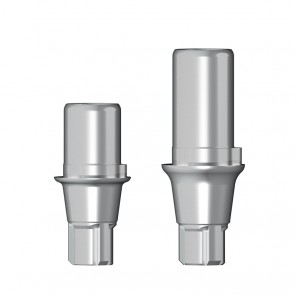 Titanbasis für Zirkonaufbau 2. Generation / Conelog®
