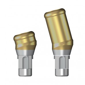 MedentiLOC Abutment abgewinkelt 15° / Straumann Bone Level®