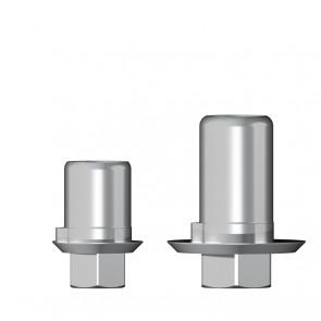 Titanbasis für Zirkonaufbau 2. Generation / Zimmer® - MIS® - BioHorizons®