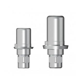 Titanbasis für Zirkonaufbau 2. Generation / Dentsply Frialit Xive®