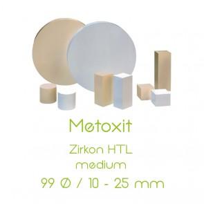 Metoxit Zirkon HTL - 99 Ø  /  10 - 25mm - medium