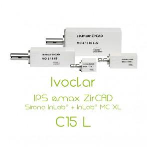 Ivoclar IPS e.max ZirCAD Sirona InLab® + InLab® MC XL - C15L