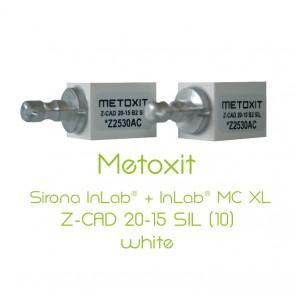 Metoxit Sirona InLab® + InLab® MC XL Z-CAD 20-15 SIL (10)