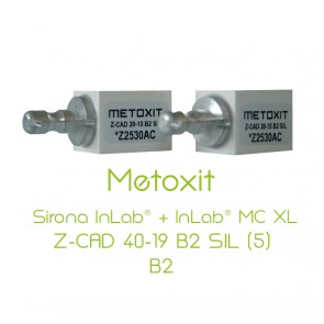 Metoxit Sirona InLab® + InLab® MC XL Z-CAD 40-19 B2 SIL (5)