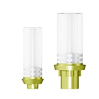 Goldabutment angiessbar / Nobel Replace Select®