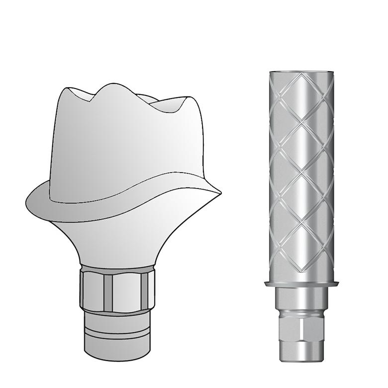 MedentiCAD / Dentsply Frialit Xive®