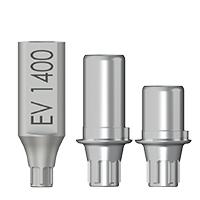 Titanbasen für Zirkon / Astra OsseoSpeed EV®