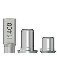 Titanbasen für Zirkon / Biomet 3i Außenhex®