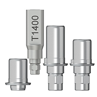 Titanbasen für Zirkon / Dentsply Frialit Xive®