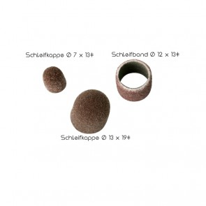 Zeiser Schleifkappen Ø 7 x 13/Korn 80 - 320