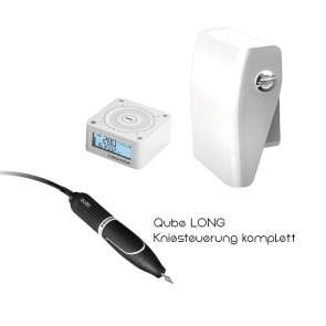 Schick Qube Premium Long Kniesteuerung