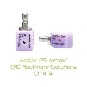 IPS e.max CAD Abutment Solutions LT A 14