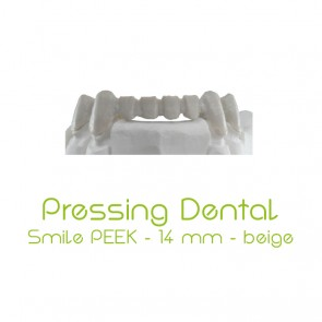 Pressing Dental Smile PEEK 14mm - Beige