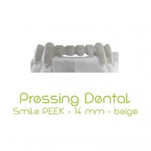 Pressing Dental Smile PEEK 14mm - Beige