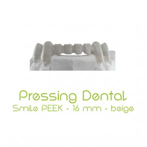 Pressing Dental Smile PEEK 16mm - Beige