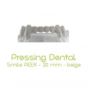 Pressing Dental Smile PEEK 20mm - Beige