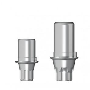 Titanbasis für Zirkonaufbau 2. Generation / Astra OsseoSpeed EV®