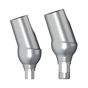 Abgewinkeltes Massivabutment 18° / Straumann Bone Level®