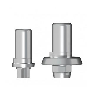 Titanbasis für Zirkonaufbau 2. Generation / Straumann SynOcta® Tissue Level®