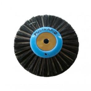 Polirapid Suprema mit Leinen- 3-reihig Flach/Spitz Plastik