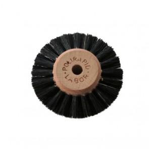 Polirapid Polierbürsten Labor hart - 3-reihig Flach/Spitz Plastik/Holz