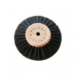 Polirapid Polierbürsten Labor hart - 6-reihig Flach/Spitz Holz