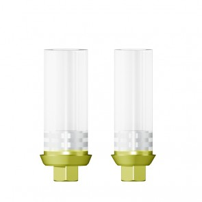 HSL Abutment rotationsindexiert inklusiv Abutmentschraube / Zimmer® - MIS® - BioHorizons®