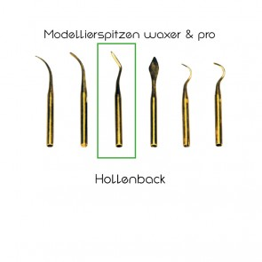 Yeti Modellierspitzen waxer/pro/Hollenback