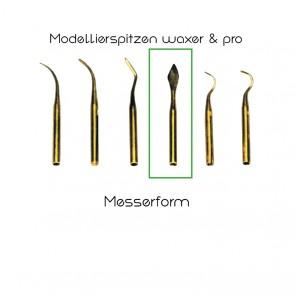 Yeti Modellierspitzen waxer/pro/Messerform
