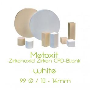 Metoxid Zirkon CAM-Blank D 99 - white