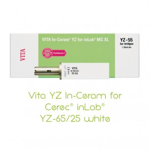 Vita YZ In-Ceram for Cerec® inLab® YZ-65/25 white