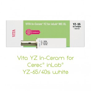 Vita YZ In-Ceram for Cerec® inLab® YZ-65/40s white
