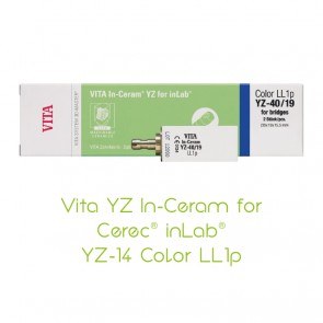Vita YZ In-Ceram for Cerec® inLab® Color YZ-14 LL1p