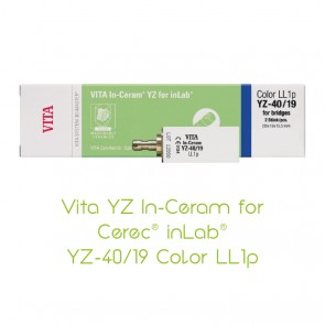 Vita YZ In-Ceram for Cerec® inLab® YZ-40/19-LL1p