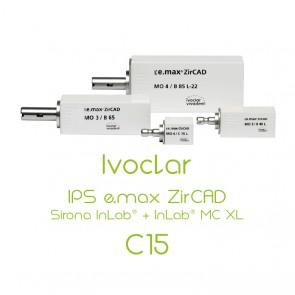 Ivoclar IPS e.max ZirCAD Sirona InLab® + InLab® MC XL - C15