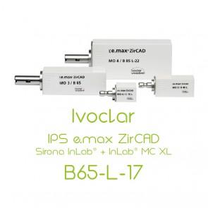 Ivoclar IPS e.max ZirCAD Sirona InLab® + InLab® MC XL - B65-L-17