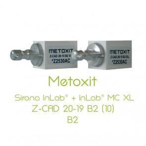 Metoxit Sirona InLab® + InLab® MC XL Z-CAD 20-19 B2 (10)