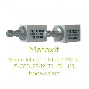 Metoxit Sirona InLab® + InLab® MC XL Z-CAD 20-19 TL SIL (10)