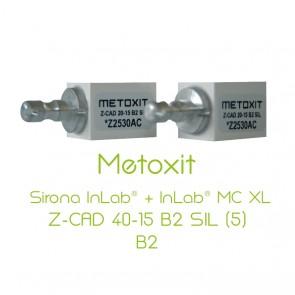 Metoxit Sirona InLab® + InLab® MC XL Z-CAD 40-15 B2 SIL (5)